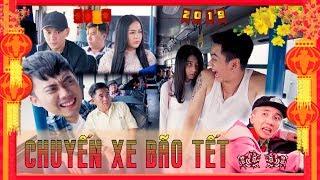 HÀI TẾT 2019 | Chuyến Xe Bão Tết : Tập 1 - Ginô Tống, Kim Chi, Lục Anh, Bé Chanh, Lâm Á Hân
