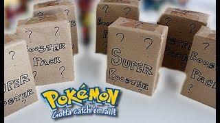 $6000 MYSTERY Pokemon Booster Packs