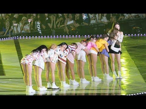 180801 트와이스(TWICE) Full ver. What is Love + Dance The Night Away + Heart Shaker [2018 KMF] 직캠 by 비몽