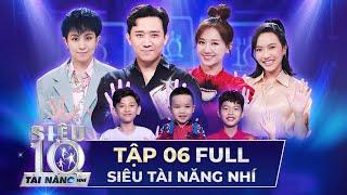 SIÊU TÀI NĂNG NHÍ TẬP 6 FULL | Trấn Thành, Hari Won, Diệu Nhi ĐẤU BÓNG BÀN trên sân khấu STNN 2020