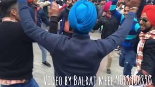 Punjabi dance on lake 3 peg song