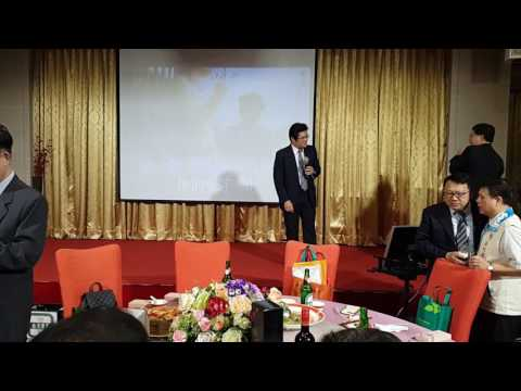 106新竹縣中醫師公會會員大會~新北-陳俊明醫師&桃園-何紹彰醫師合唱慶祝