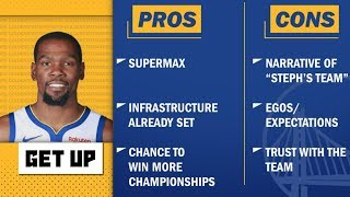Pros and Cons: Kevin Durant's free agency landing spots | Get Up