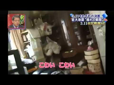 2011年3月11日 東日本大震災 発生の瞬間映像集