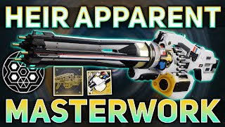 Heir Apparent MASTERWORK (Exotic Catalyst Review & How to complete)   Destiny 2 Season of the Chosen