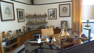 Walt Disney's restored office suite tour at Walt Disney Studios lot