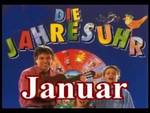 Deutsch Monate learn german months - aprende alemán los ...