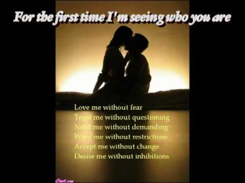 For The First Time by Rod Stewart (lyrics)