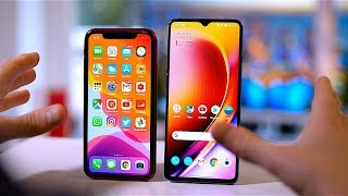 OnePlus 7T vs iPhone 11 Review: 1 Week Later!