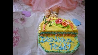 Half birthday cake smash at home, simple and easy