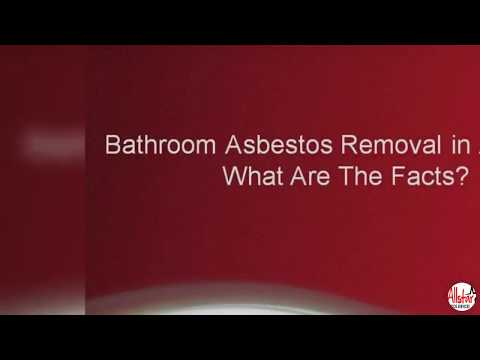 Bathroom Asbestos Removal in Adelaide: What Are The Facts?