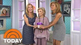 Cloris Leachman Keeps KLG And Hoda On Their Toes | TODAY