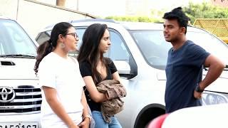 Asking money for chakhana prank on girls by Amit Kumar Ft - AKY Films   Yash Thakur