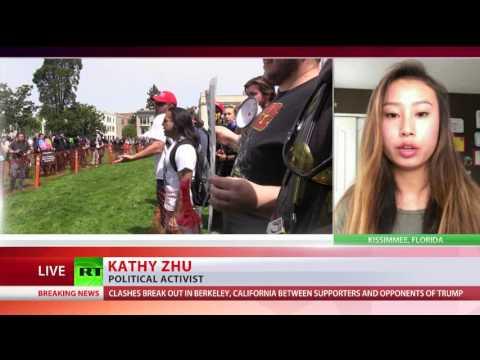 Kathy Zhu talks to RT Int 16042017