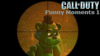 Throwback Thursday Day 1 - Call of Duty 1 Funny Moments 1