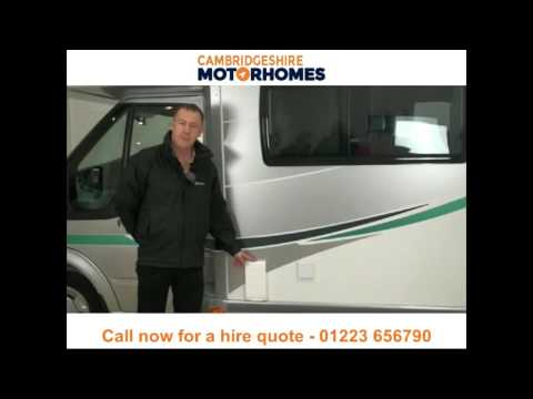 Motorhome hire and campervan rental Cambridgeshire - Call 01223 656790
