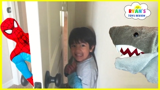 Hide N Seek Compilation Family Fun Chase Playtime with Ryan ToysReivew