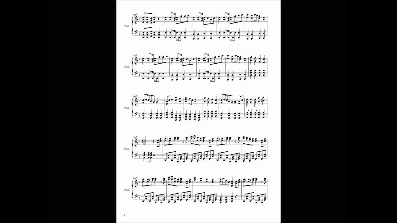 000takuan000 [楽譜]千本桜(修正版)[初音ミク] 000takuan000  [楽