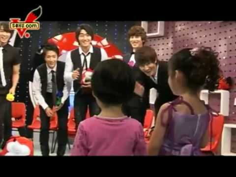 [ENG] 090918 SJM Sohu Interview - Part 3 (Flower Choosing/Ryeowook is BEAUTIFUL!)