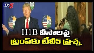 TV5 questions Donald Trump on H-1B visa..