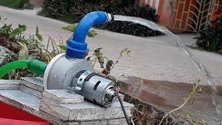 How to Make Powerful Water Pump|| 12V Home Made Pump