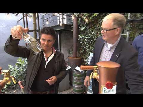 Pilsner Urquell introduceert horizontaal biertappen in Nederlandse horeca