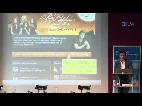 Vortrag: Social TV - Einblick in die erfolgreichsten Formate weltweit.