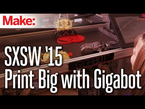 Massive-Scale 3D Printing with Gigabot