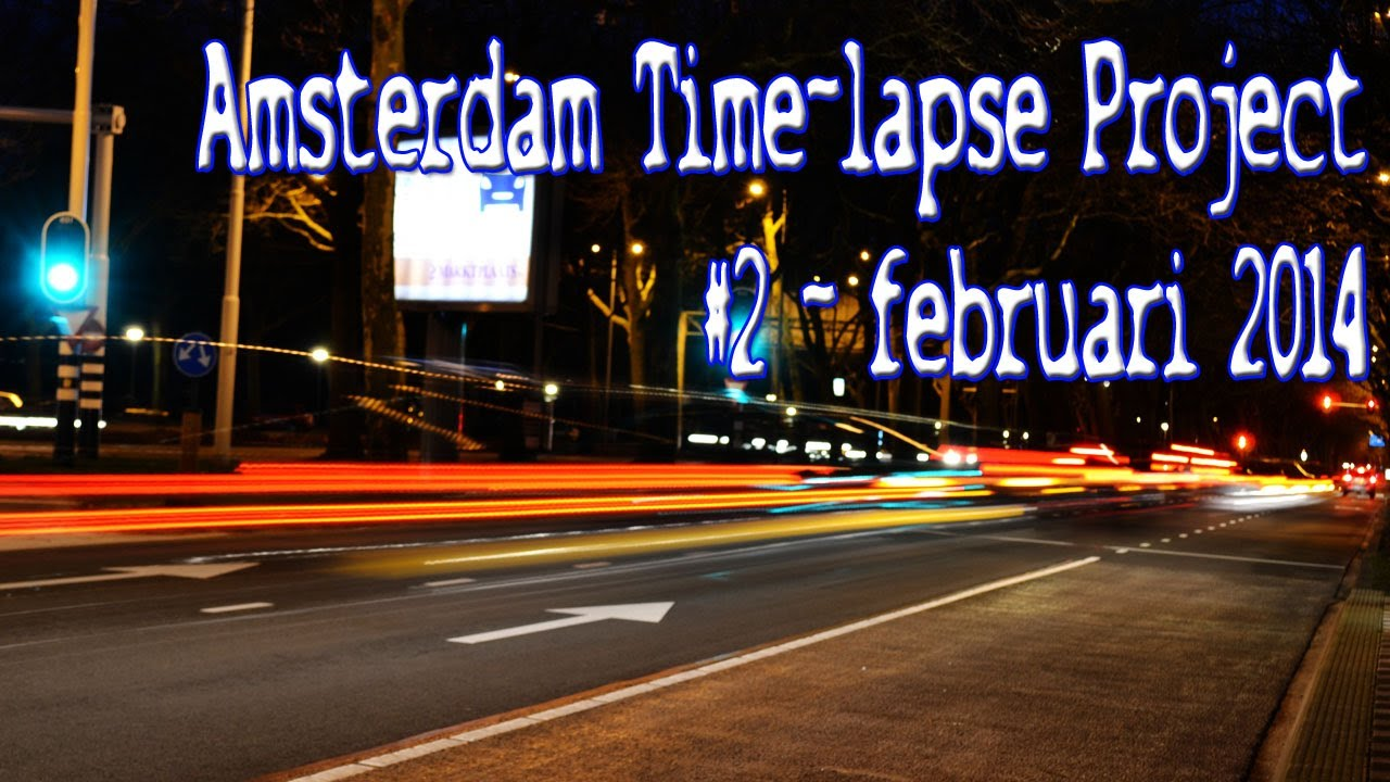 Amsterdam Time-Lapse Project 2014 - Magazine cover