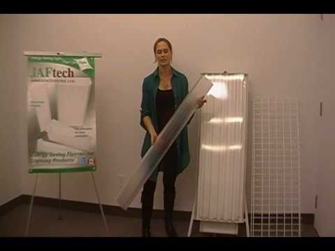 JAFtech Manufacturing Walkthrough - Energy Efficient Fluorescent Lighting Fixtures & Retrofit Kits