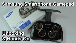 فتح صندوق ومراجعه جويستك سامسونج | Samsung Smartphone GamePad - Unboxing ...