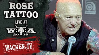 Rose Tattoo - Nice Boys Don't Play Rock 'N' Roll - Live at Wacken Open Air 2019