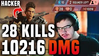 TSM Albralelie spectated a hacker with aimbot breaking THE DAMAGE WORLD RECORD *10216 damage*
