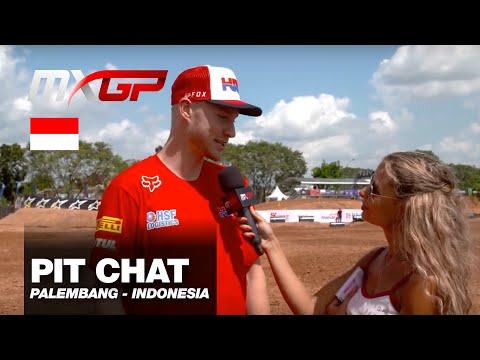 Pit Chat with Calvin Vlaanderen MXGP of Indonesia 2019 #motocross