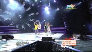 2NE1 - I Don't Care Remix in concert
