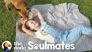 Little Girl And Her Rescued Fox Are Best Friends | The Dodo Soulmates