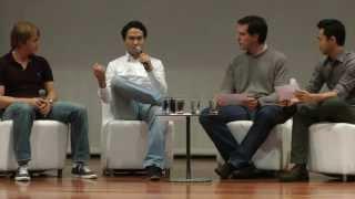 Stefan Schimenes e Christian Gessner (Airbnb)