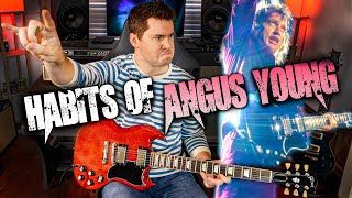 Guitar Habits of Angus Young