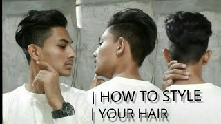 How to style your hair like model | NIHIR RAJPUT | |STYLE YOUR HAIR |