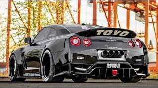 NISSAN GTR BIG TURBO & EXHAUST SOUNDS