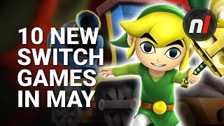 10 Great New Games Coming to Nintendo Switch in May -