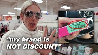 jeffree star's makeup was found at a discount store..