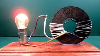 Free energy generator Magnet Coil Work 100% - New Science project experiment at Home