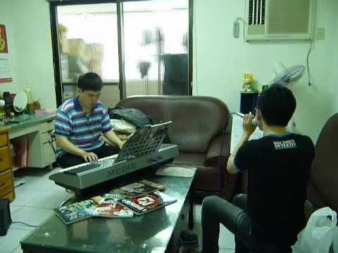 郭采潔-誠實地想你-電子琴彈唱