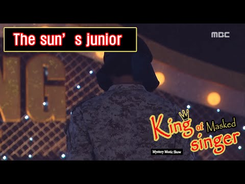 [King of masked singer] 복면가왕 - 'The sun's junior' Identity 20160522