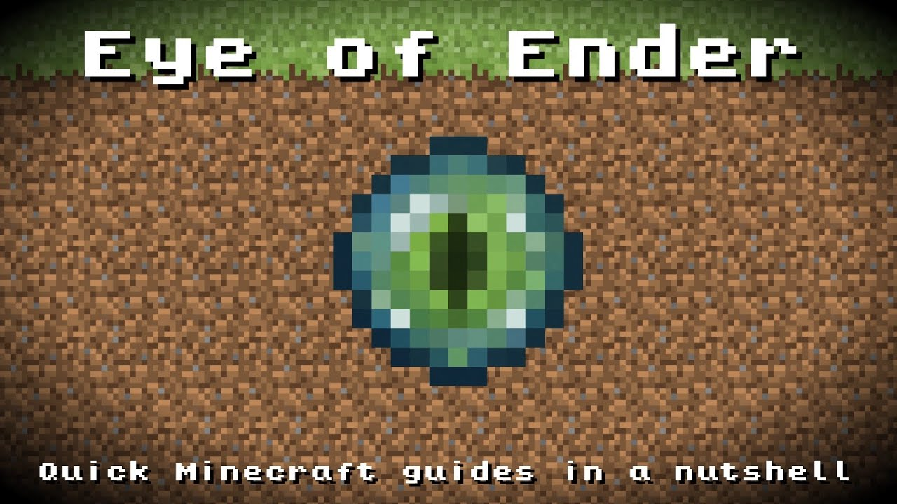 Eye Of Ender Crafting Recipe