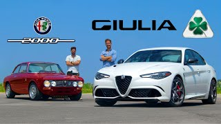 2020 Alfa Romeo Giulia Quadrifoglio vs Alfa Romeo GTV // $100,000 Meets Priceless