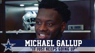 Michael Gallup Talks About Growth With Quarterback Dak Prescott | Dallas Cowboys 2019