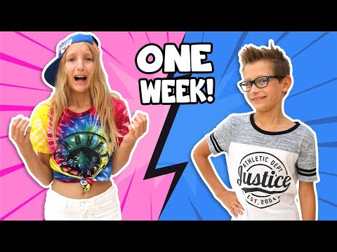Switching Clothes with my Brother!!!!