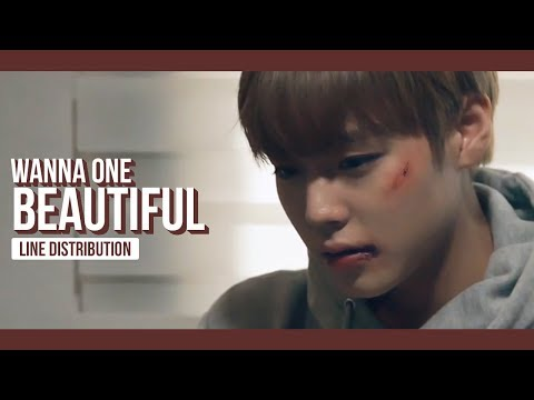 WANNA ONE - Beautiful Line Distribution (Color Coded) | 워너원 - 뷰티풀